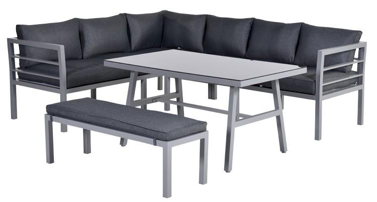 Blakes lounge dining set bekijk aluminium tuinmeubelen for Dinner lounge gartenmobel