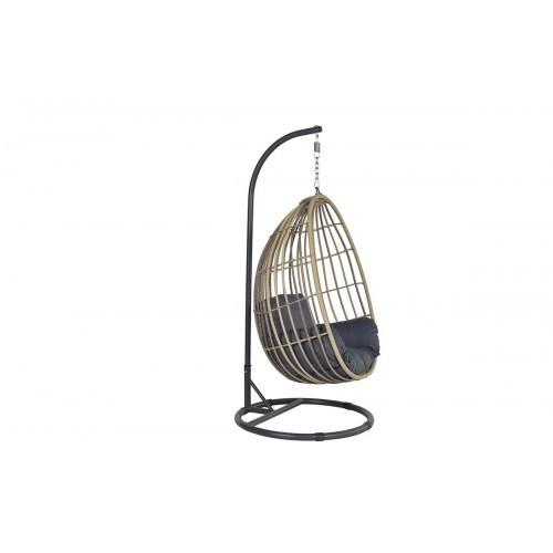 Hangstoel Bruin Egg.Panama Hangstoel Natural Rotan Wicker Hier Online