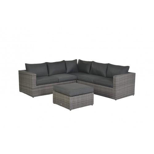 Lounge Hoekbank Antraciet.Orangebird Loungeset Organic Grey Lounge Hoekbank