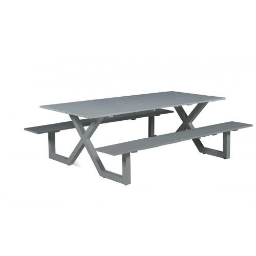 Cool Aluminium Picknicktafel Napels Grijs Van Garden Impressions Forskolin Free Trial Chair Design Images Forskolin Free Trialorg