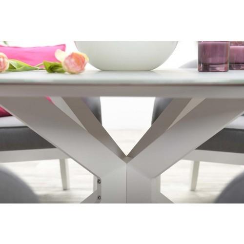 Ronde Tuintafel Met Glazen Blad.Milo Ronde Tuintafel Design Van Garden Impressions