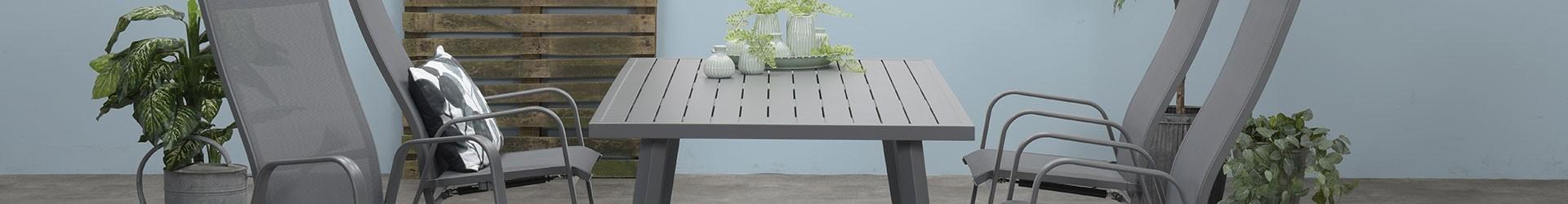 Ronde Aluminium Tuintafel Met Glasplaat.Garden Impressions Tuintafels Tuin Tafel Collectie