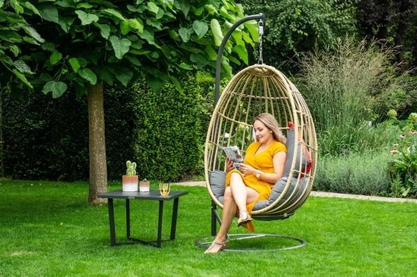 Zit Ei Stoel.Garden Impressions Hangstoelen Hang Ei Garden Impressions